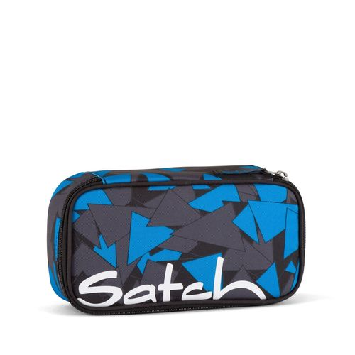 satch Schlamperbox Blue Triangel