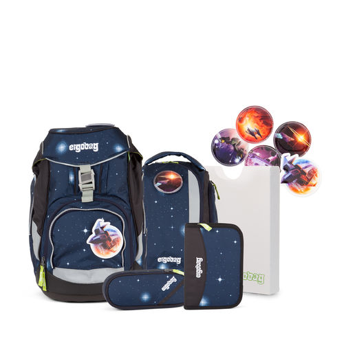 ergobag pack-Set KoBärnikus Blaue Galaxy