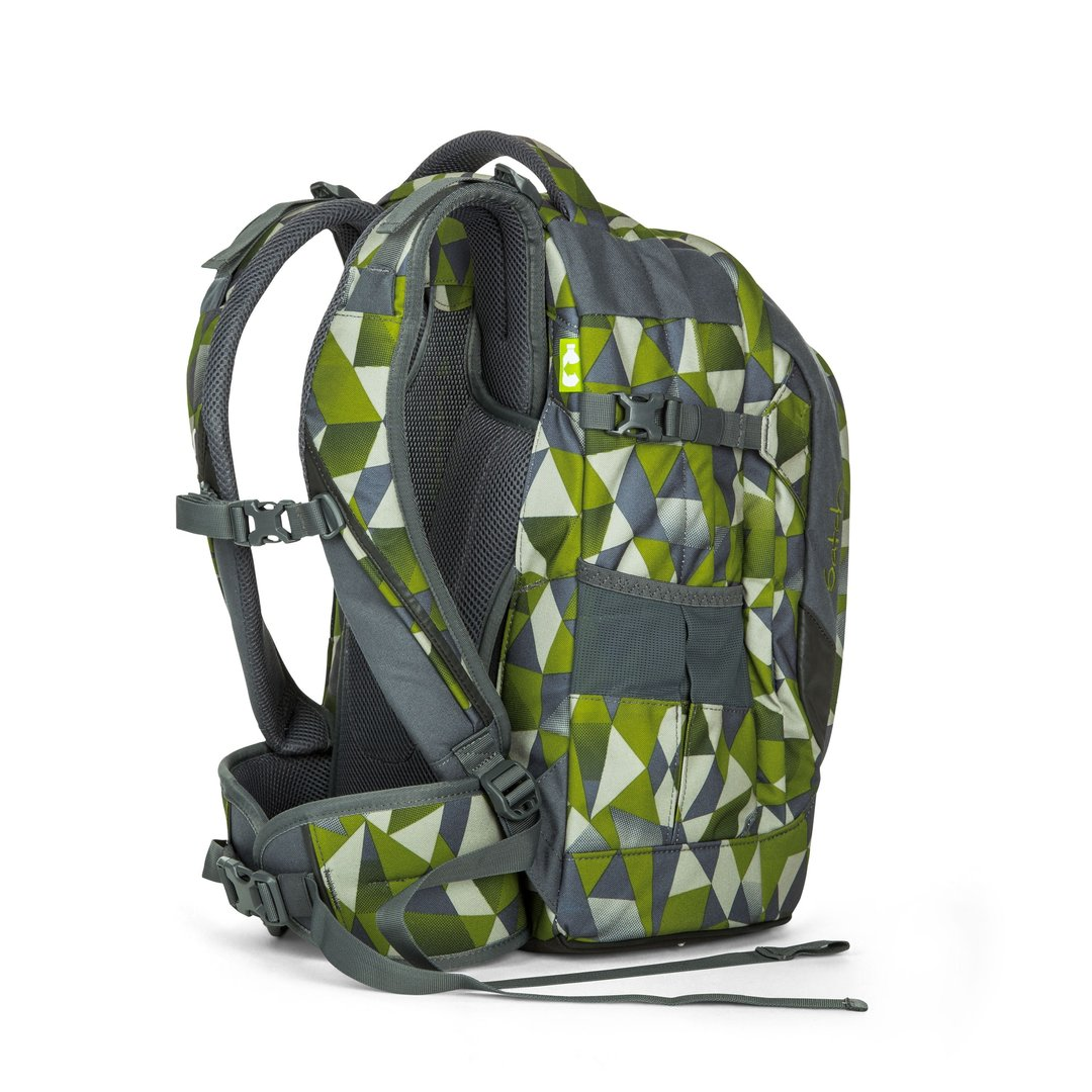 7c23676ef6aa3 satch pack-Schulrucksack Green Crush Grün Polygon - Shop Villa ...