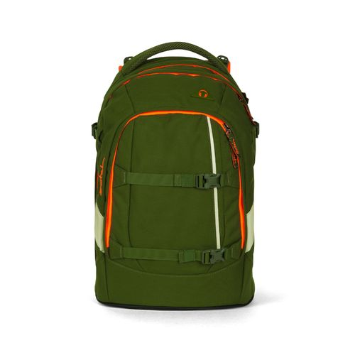 satch pack-Schulrucksack Green Phantom